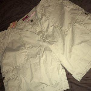 Khaki Shorts Size 18